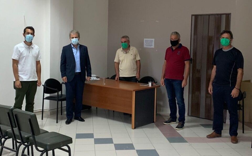 Τον Μελισσοκομικό Σύλλογο Νομού Κοζάνης επισκέφτηκε ο Βουλευτής Ν. Κοζάνης Γιώργος Αμανατίδης