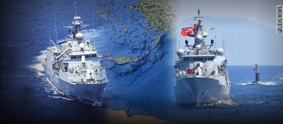 Associated Press: «Το ΠΝ και το τουρκικό Ναυτικό χορεύουν το ένα δίπλα στο άλλο - Κίνδυνος για ταχεία κλιμάκωση»