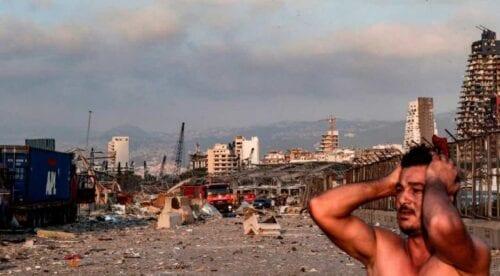 Λίβανος-Βηρυτός: «Βιβλική» καταστροφή από την έκρηξη, τουλάχιστον 78 νεκροί, χιλιάδες τραυματίες (Photos/Video)