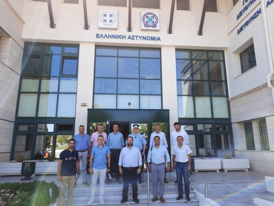 Συνάντηση του Γενικού Περιφερειακού Αστυνομικού Διευθυντή Δυτικής Μακεδονίας με τον Πρόεδρο της Περιφερειακής Ένωσης Δήμων Δυτικής Μακεδονίας