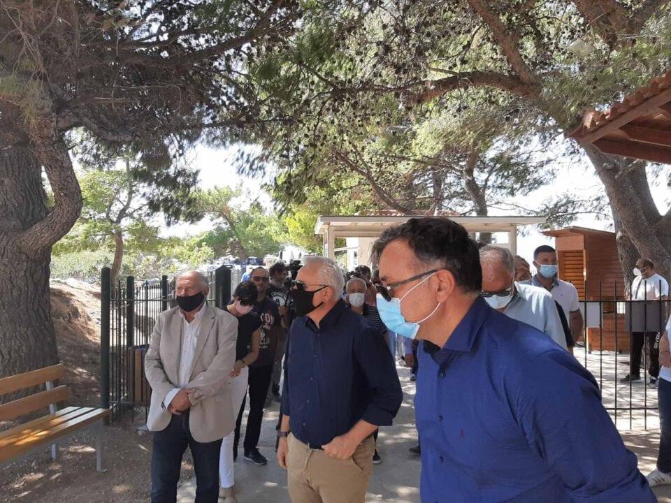 Aντιπροσωπεία του ΣΥΡΙΖΑ – Προοδευτική Συμμαχία στον αρχαιολογικό χώρο των Μυκηνών