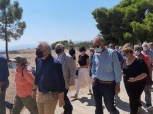 Aντιπροσωπεία του ΣΥΡΙΖΑ – Προοδευτική Συμμαχία στον αρχαιολογικό χώρο των Μυκηνών 39