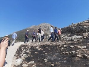 Aντιπροσωπεία του ΣΥΡΙΖΑ – Προοδευτική Συμμαχία στον αρχαιολογικό χώρο των Μυκηνών 30