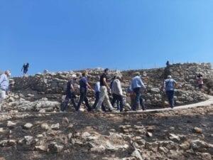 Aντιπροσωπεία του ΣΥΡΙΖΑ – Προοδευτική Συμμαχία στον αρχαιολογικό χώρο των Μυκηνών 35