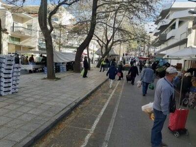Κλείνει η λαϊκή αγορά της Κοζάνης για 10 μέρες