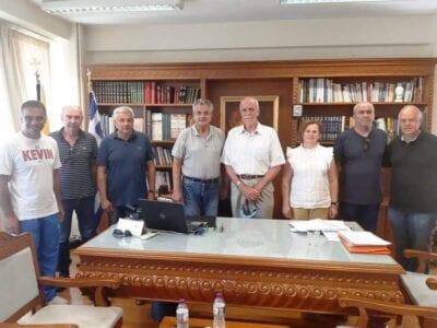 Επίσκεψη του Γενικού Γραμματέα του ΣΕΓΑΣ κ. Σεβαστή Βασίλη στον Αντιπεριφερειάρχη Π.Ε. Κοζάνης κ. Γρηγόρη Τσιούμαρη 1