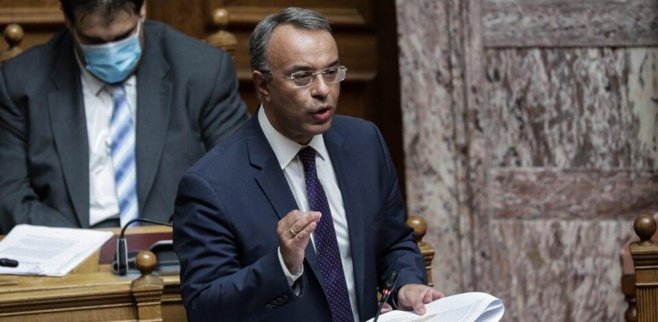 Σταϊκούρας: Νέα παράταση στις φορολογικές υποχρεώσεις έως τον Απρίλιο του 2021