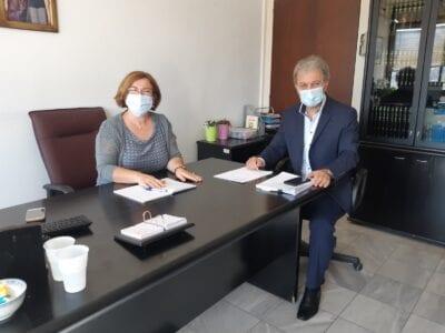 ο Βουλευτής Ν. Κοζάνης Γιώργος Αμανατίδης επισκέφθηκε τους νέους Δ/ντες Α/θμιας & Β/θμιας Εκπαίδευσης 3