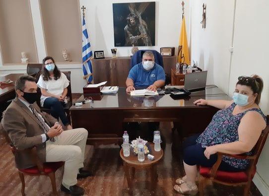 Συνάντηση του Δημάρχου Εορδαίας με τον Πρόεδρο του Οργανισμού Πληρωμών και Ελέγχου Κοινοτικών Ενισχύσεων Προσανατολισμού και Εγγυήσεων.