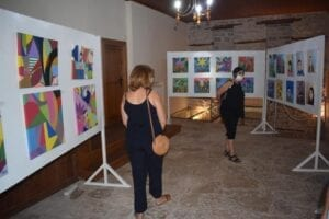 Τα εγκαίνια της Έκθεσης Ζωγραφικής «Αντι - στεκόμαστε» 20