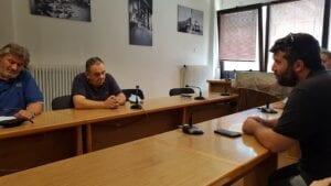 Συνάντηση Νεολαίας ΣΥΡΙΖΑ με το Σωματείο ΣΠΑΡΤΑΚΟΣ 6