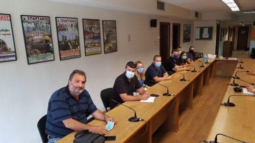 Συνάντηση της Νεολαίας ΣΥΡΙΖΑ με το Σωματείο ΣΠΑΡΤΑΚΟΣ