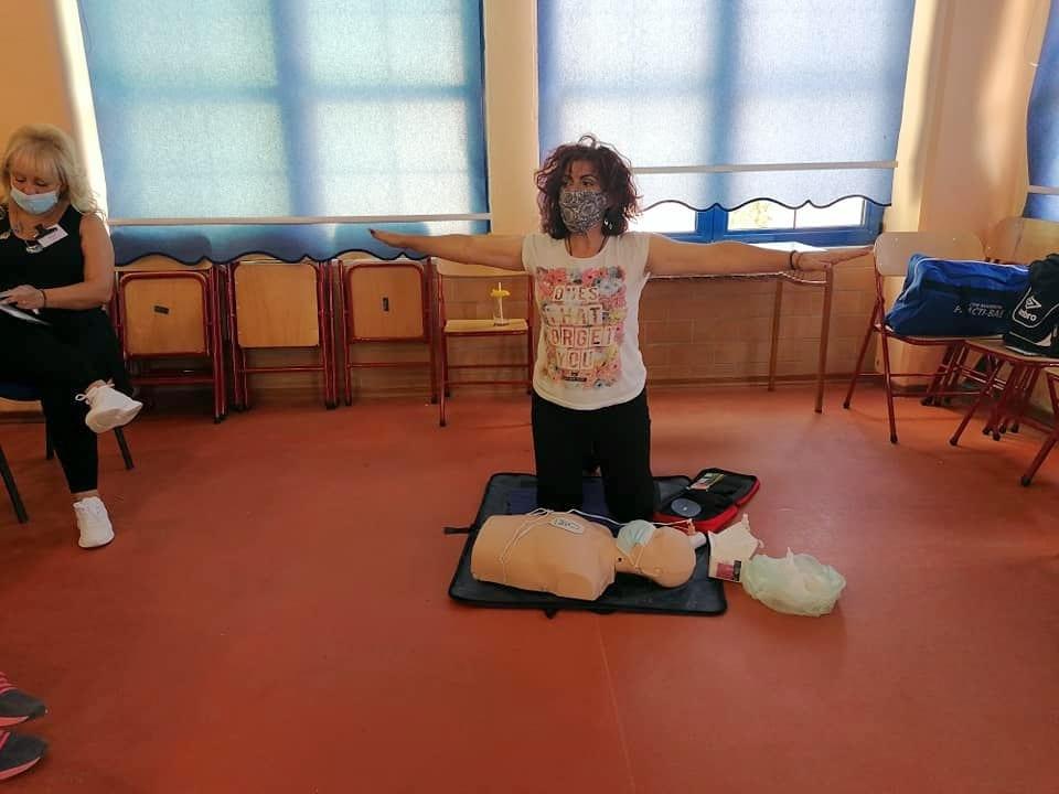 Μέλη της Εθελοντικής Διασωστικής Ομάδας Πτολεμαΐδας εκπαιδεύτηκαν και πιστοποιήθηκαν ως εκπαιδευτές, από το Ευρωπαϊκό Συμβούλιο Αναζωογόνησης , στην Παιδιατρική Βασική Υποστήριξη της Ζωής (φωτογραφίες) 49