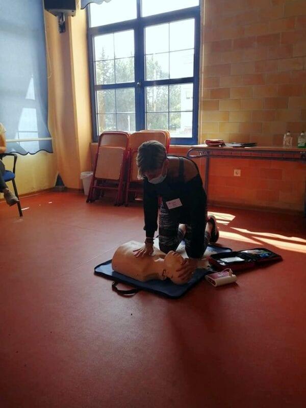 Μέλη της Εθελοντικής Διασωστικής Ομάδας Πτολεμαΐδας εκπαιδεύτηκαν και πιστοποιήθηκαν ως εκπαιδευτές, από το Ευρωπαϊκό Συμβούλιο Αναζωογόνησης , στην Παιδιατρική Βασική Υποστήριξη της Ζωής (φωτογραφίες) 48