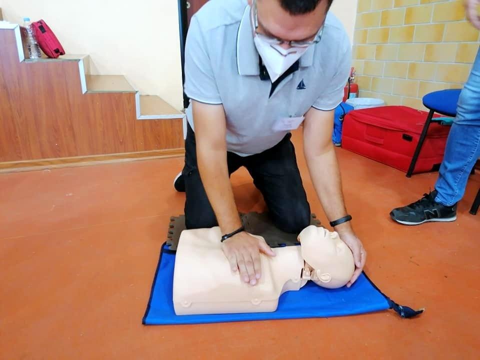 Μέλη της Εθελοντικής Διασωστικής Ομάδας Πτολεμαΐδας εκπαιδεύτηκαν και πιστοποιήθηκαν ως εκπαιδευτές, από το Ευρωπαϊκό Συμβούλιο Αναζωογόνησης , στην Παιδιατρική Βασική Υποστήριξη της Ζωής (φωτογραφίες) 44