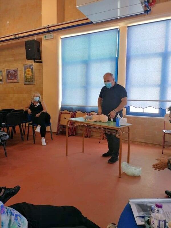 Μέλη της Εθελοντικής Διασωστικής Ομάδας Πτολεμαΐδας εκπαιδεύτηκαν και πιστοποιήθηκαν ως εκπαιδευτές, από το Ευρωπαϊκό Συμβούλιο Αναζωογόνησης , στην Παιδιατρική Βασική Υποστήριξη της Ζωής (φωτογραφίες) 43