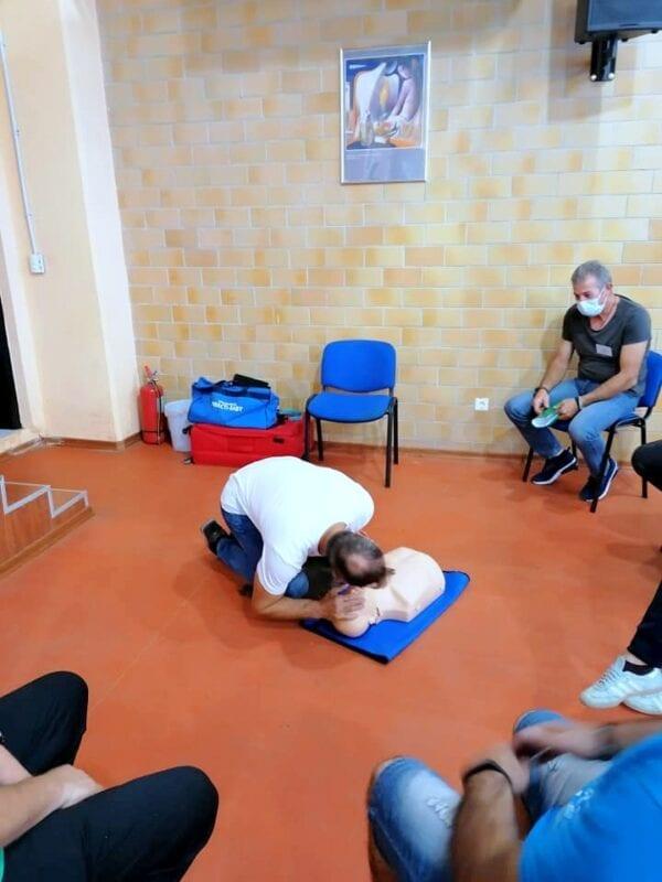 Μέλη της Εθελοντικής Διασωστικής Ομάδας Πτολεμαΐδας εκπαιδεύτηκαν και πιστοποιήθηκαν ως εκπαιδευτές, από το Ευρωπαϊκό Συμβούλιο Αναζωογόνησης , στην Παιδιατρική Βασική Υποστήριξη της Ζωής (φωτογραφίες) 36