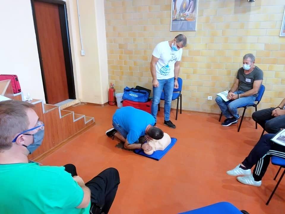 Μέλη της Εθελοντικής Διασωστικής Ομάδας Πτολεμαΐδας εκπαιδεύτηκαν και πιστοποιήθηκαν ως εκπαιδευτές, από το Ευρωπαϊκό Συμβούλιο Αναζωογόνησης , στην Παιδιατρική Βασική Υποστήριξη της Ζωής (φωτογραφίες) 30