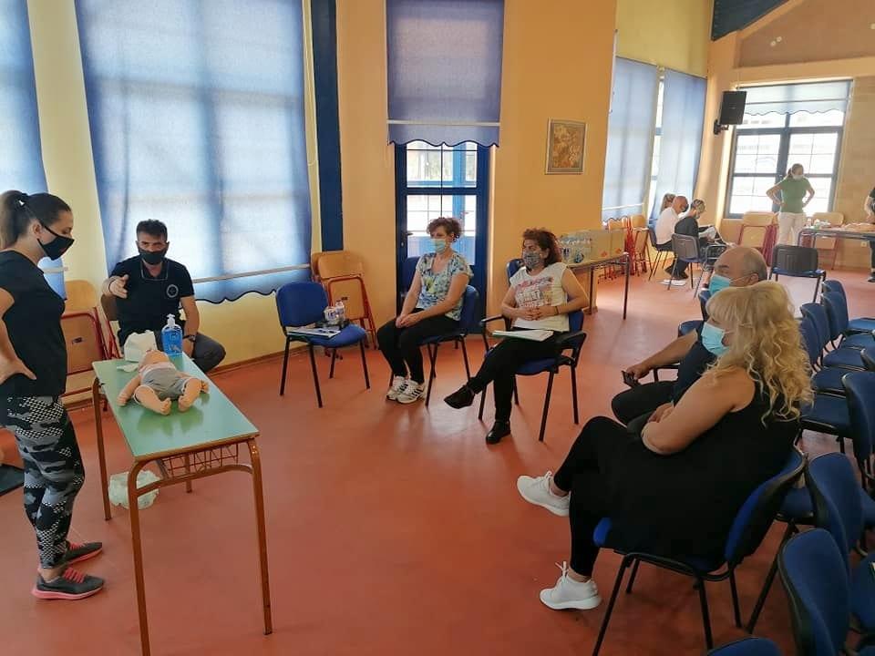 Μέλη της Εθελοντικής Διασωστικής Ομάδας Πτολεμαΐδας εκπαιδεύτηκαν και πιστοποιήθηκαν ως εκπαιδευτές, από το Ευρωπαϊκό Συμβούλιο Αναζωογόνησης , στην Παιδιατρική Βασική Υποστήριξη της Ζωής (φωτογραφίες) 29