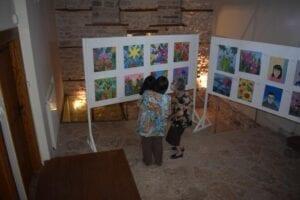 Τα εγκαίνια της Έκθεσης Ζωγραφικής «Αντι - στεκόμαστε» 17
