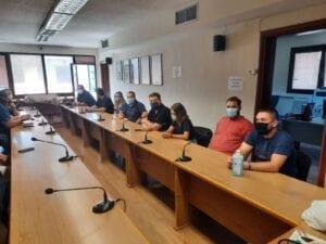 Η νεολαία του ΣΥΡΙΖΑ στα γραφεία του ΣΠΑΡΤΑΚΟΥ 5
