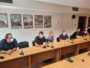 Η νεολαία του ΣΥΡΙΖΑ στα γραφεία του ΣΠΑΡΤΑΚΟΥ 8