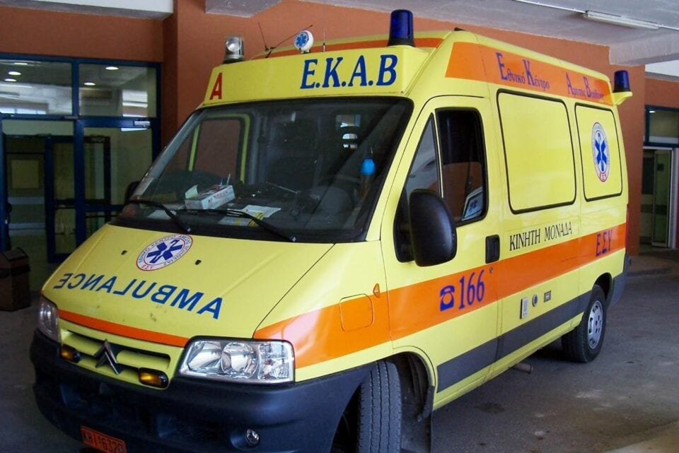 Τροχαίο ατύχημα με μηχανή στο κέντρο της Κοζάνης