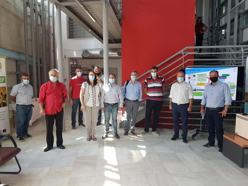 Πτολεμαΐδα: Επίσκεψη Αντιπεριφερειαρχών Δυτικής Μακεδονίας στις εγκαταστάσεις του ΕΚΕΤΑ στην Πτολεμαΐδα 1