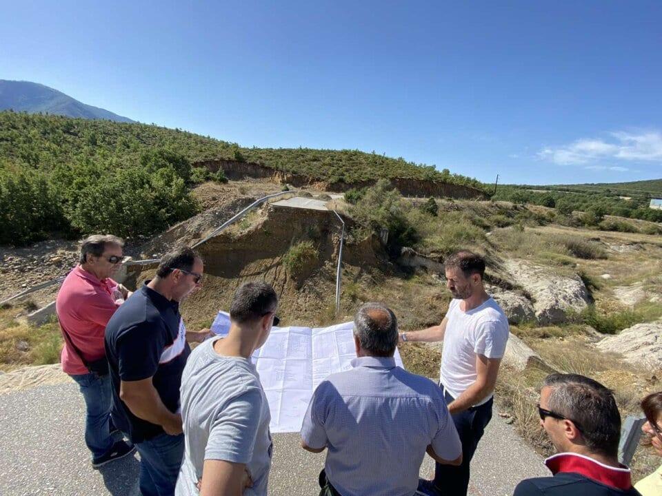 Δήμος Κοζάνης: Ξεκινούν οι εργασίες αποκατάστασης του δρόμου Χρωμίου – Ποντινής που είχε καταστραφεί από τις πλημμύρες του 2016 (βίντεο)