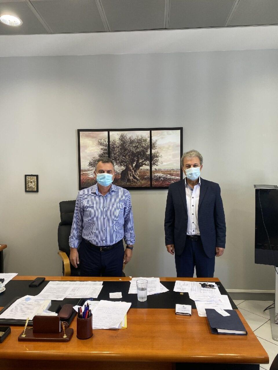Συνάντηση του Βουλευτή Ν. Κοζάνης Γιώργου Αμανατίδη με τον Διοικητή της 3ης Υγειονομικής Περιφέρειας (Υ.ΠΕ) Παναγιώτη Μπογιατζίδη 1