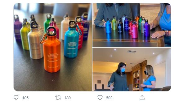 Άνοιγμα σχολείων: Αυτά είναι τα παγούρια που θα μοιραστούν δωρεάν στους μαθητές