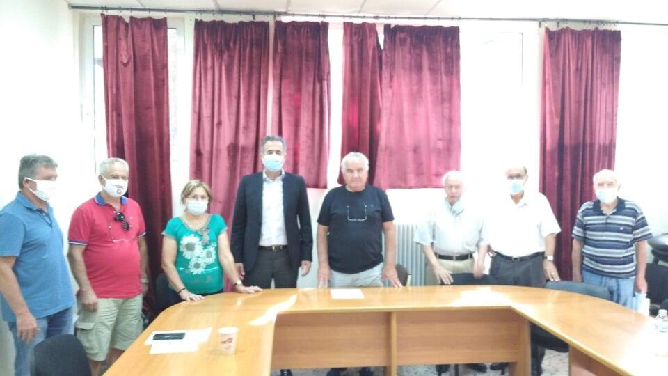 Συνάντηση Στάθη Κωνσταντινίδη με τη Συντονιστική Επιτροπή Αγώνα Συνταξιουχικών Οργανώσεων Νομού Κοζάνης
