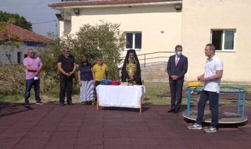 Στον αγιασμό του Ειδικού Δημοτικού Σχολείου στον Τετράλοφο παρέστη ο βουλευτής ΠΕ Κοζάνης Στάθης Κωνσταντινίδης.