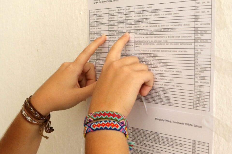 Βάσεις -Σχολές: Ποιες ήταν οι πρώτες επιλογές & ποιες οι τελευταίες (λίστα)