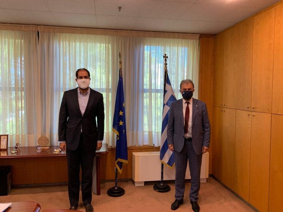 συνάντηση του Βουλευτή Ν. Κοζάνης κ. Γιώργου Αμανατίδη με τον Υφυπουργό Μεταφορών κ. Γιάννη Κεφαλογιάννη - Tι συζητήθηκε