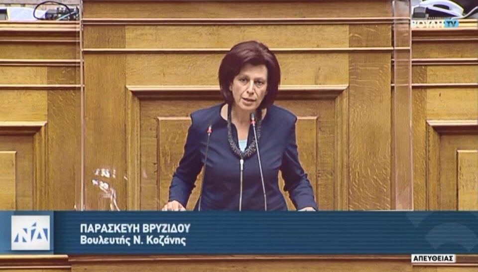 Π. Βρυζίδου- Ομιλία για την πρόταση δυσπιστίας του Σύριζα κατά του Υπουργού Οικονομικών κ. Χ. Σταϊκούρα