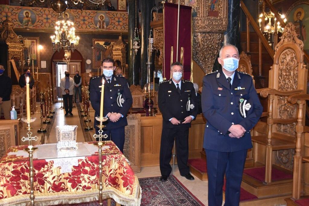 Εορτασμός του Προστάτη του Σώματος, Μεγαλομάρτυρα Αγίου Αρτεμίου και της «Ημέρας της Αστυνομίας» (φωτο)