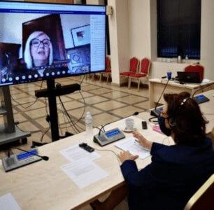 Στην οικονομική χειραφέτηση των γυναικών επικεντρώθηκε  η Ελληνίδα Βουλευτής Παρασκευή Βρυζίδου στην τηλεδιάσκεψη  του Δικτύου Γυναικών της Κοινοβουλευτικής Συνέλευσης Γαλλοφωνίας 1