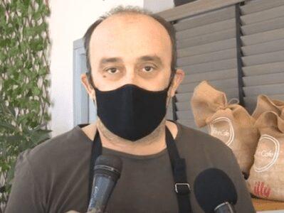 """Η απάντηση του προέδρου του Σωματείου Καφε-εστίασης """"Ερμής"""" στον Νίκο Χαρδαλιά"""