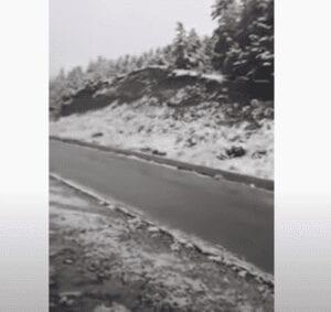 Τα βουνά των Καλαβρύτων φόρεσαν τα... λευκά τους -Επεσαν τα πρώτα χιόνια [βίντεο]