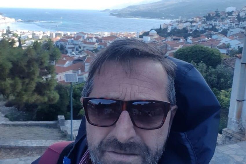Ο Γιάννης Κουμπούρας από την Κοζάνη που ζει στην Σάμο περιγράφει τις στιγμές του μεγάλου σεισμού