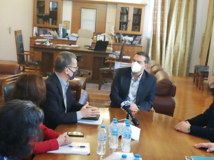 Κοζάνη: Έξι μέτρα ενίσχυσης πληττόμενων από το lockdown προτείνει ο Α.Τσίπρας (video)