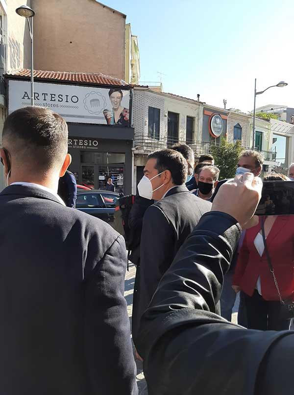 Ο Αλέξης Τσίπρας έφτασε στην Κοζάνη-Ξεκίνησε η σύσκεψη με τους πέντε δημάρχους της Π.Ε. 60