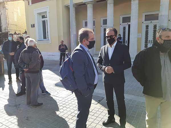 Ο Αλέξης Τσίπρας έφτασε στην Κοζάνη-Ξεκίνησε η σύσκεψη με τους πέντε δημάρχους της Π.Ε. 53