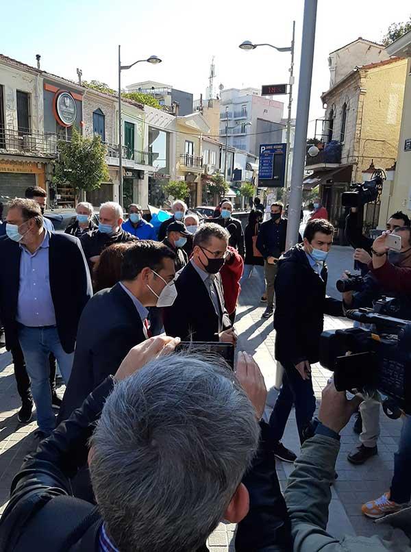 Ο Αλέξης Τσίπρας έφτασε στην Κοζάνη-Ξεκίνησε η σύσκεψη με τους πέντε δημάρχους της Π.Ε. 52