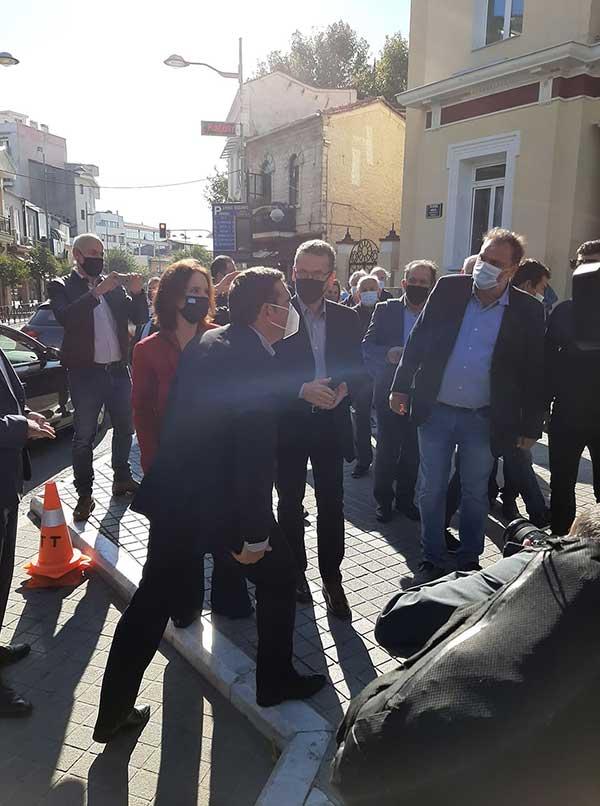 Ο Αλέξης Τσίπρας έφτασε στην Κοζάνη-Ξεκίνησε η σύσκεψη με τους πέντε δημάρχους της Π.Ε. 58
