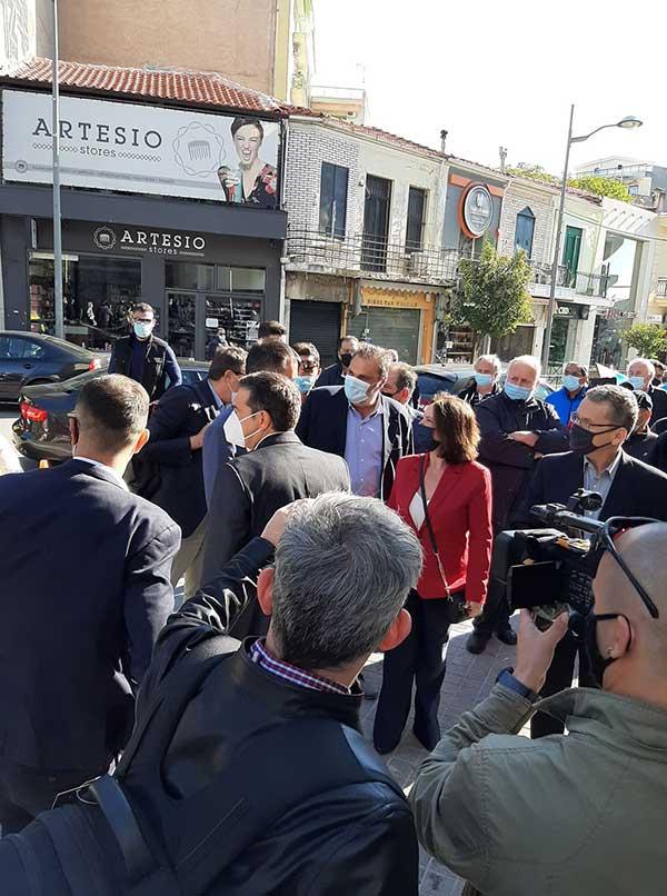 Ο Αλέξης Τσίπρας έφτασε στην Κοζάνη-Ξεκίνησε η σύσκεψη με τους πέντε δημάρχους της Π.Ε. 57