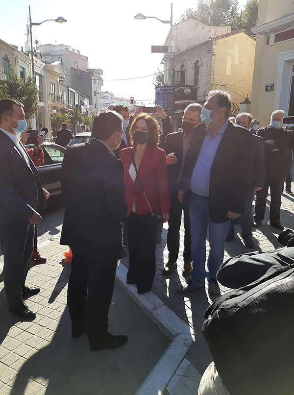 Ο Αλέξης Τσίπρας έφτασε στην Κοζάνη-Ξεκίνησε η σύσκεψη με τους πέντε δημάρχους της Π.Ε. 55