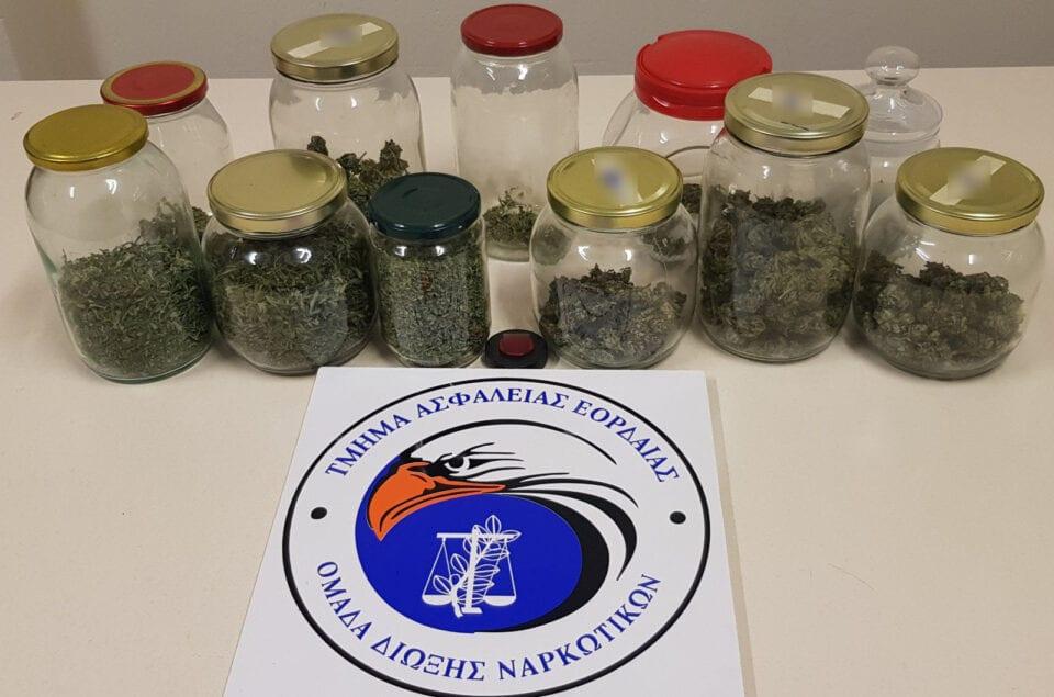 Συνελήφθησαν τρία άτομα στην Κοζάνη για παράβαση νομοθεσίας περί ναρκωτικών ουσιών