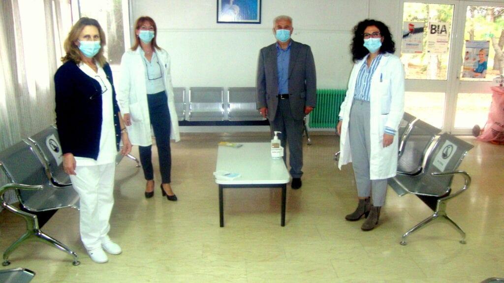 Δωρεά Εξοπλισμού από τον Αντιπεριφερειάρχη Φλώρινας στο Κέντρο Υγείας Αμυνταίου